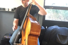 Sven Larson - Upright Bass - Photo by Thia Blake Branson