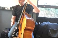 Sven Larson - Upright Bass - Photo by Thia Blake Branson